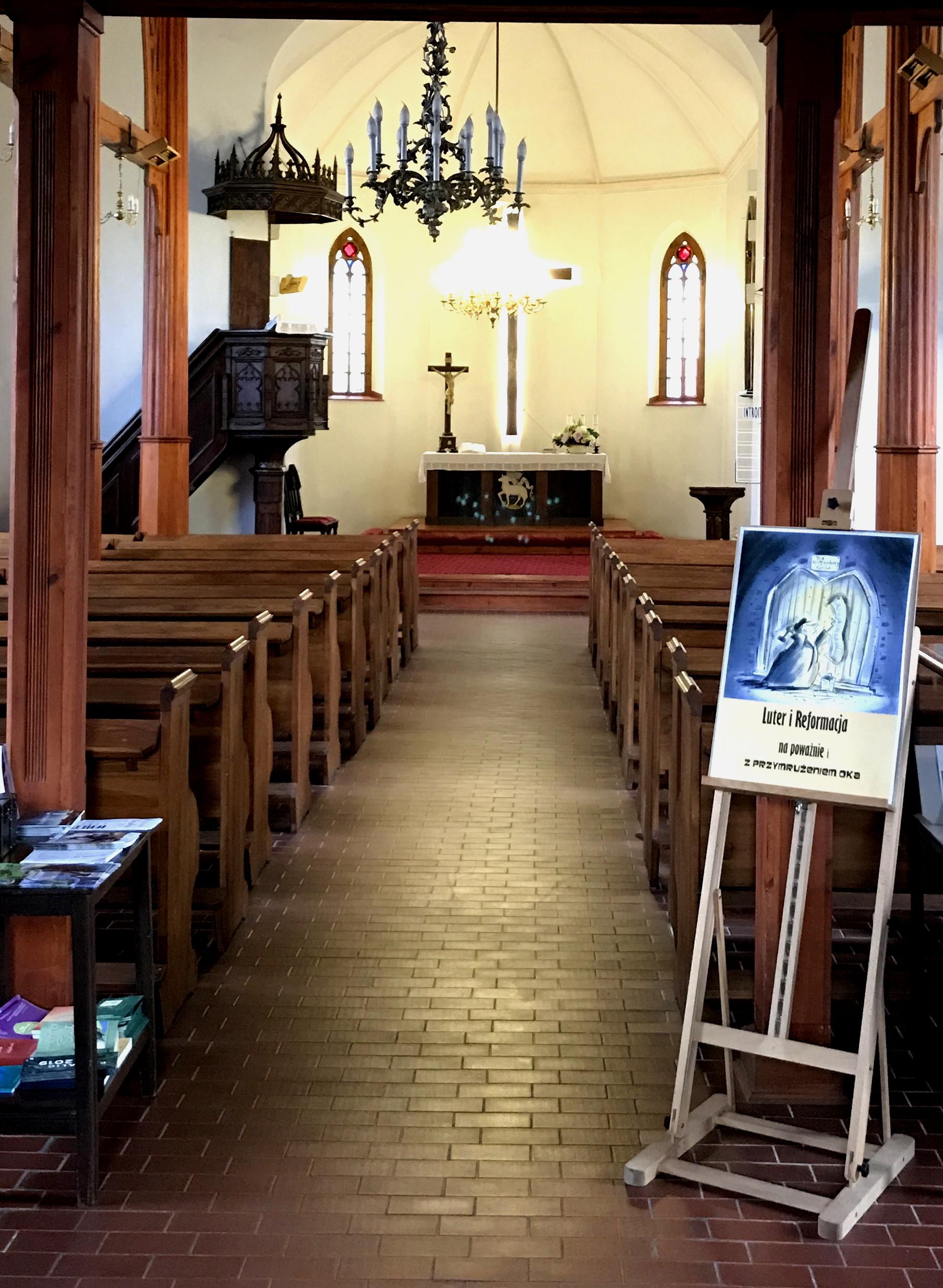 15. Kościół ŚwiętegoKrzyża w Słupsku.